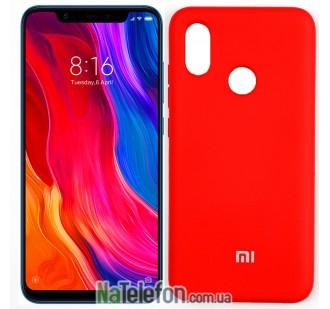 Чехол Original Soft Case для Xiaomi Mi8 Красный FULL