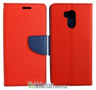 Чехол книжка Goospery для Xiaomi Redmi 4 Prime Red
