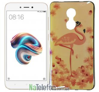 Чехол U-Like Picture series для Xiaomi Redmi Note 4x Flamingo