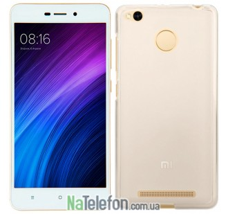 Силиконовый чехол Original Silicon Case Xiaomi Redmi 3x/3s/3 Pro White
