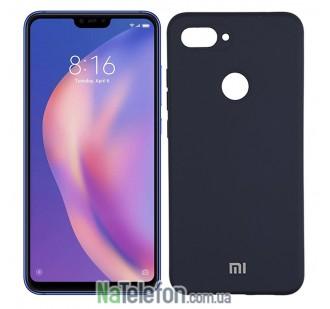 Чехол Original Soft Case для Xiaomi Mi8 Lite Синий FULL