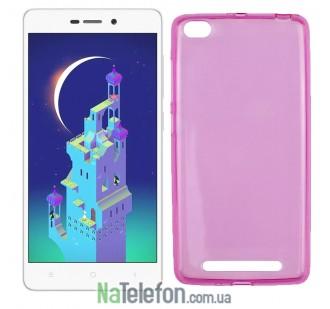 Чехол Ultra Thin Silicone Remax 0.2 mm для Xiaomi Redmi 3 Pink