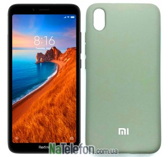 Чехол Original Soft Case для Xiaomi Redmi 7a Серый FULL
