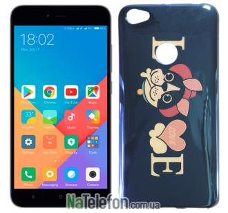 Чехол U-Like Picture series для Xiaomi Redmi Note 5a Prime Love Black