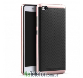 Накладка iPaky (OR) Carbon TPU + Bumper for Xiaomi Redmi 3s/3x/3 Pro Rose Gold