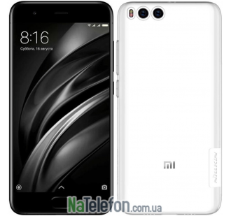 Чехол NILLKIN Nature TPU для Xiaomi Mi6 White