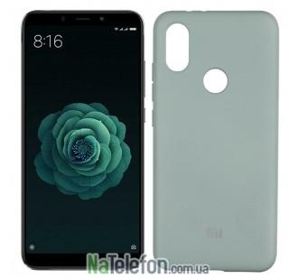 Чехол Original Soft Case для Xiaomi Mi6x/Mi A2 Светло Голубой FULL