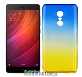 Чехол Ultra Thin Silicone Remax 0.2 mm для Xiaomi Redmi Note 4 Ukrainian Colour
