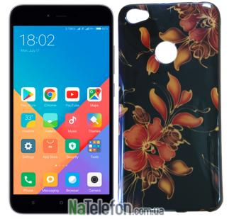 Чехол U-Like Picture series для Xiaomi Redmi Note 5a Prime Flowers