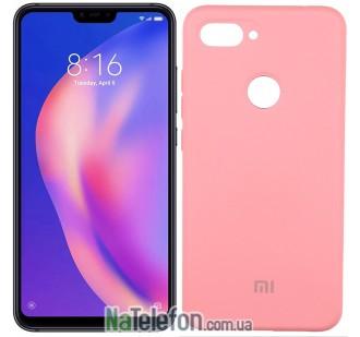 Чехол Original Soft Case для Xiaomi Mi8 Lite Розовый