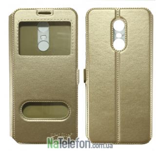 Чехол-книжка U-Like Simple Xiaomi Redmi 5 Plus Gold