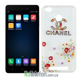 Чехол Lucent Diamond Case для Xiaomi Redmi 3s/3x/3 Pro Chanel
