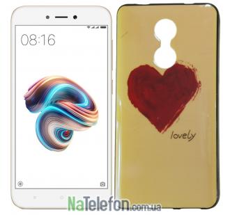 Чехол U-Like Picture series для Xiaomi Redmi Note 4x Heart Blue