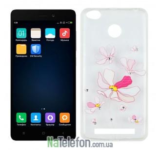 Чехол Lucent Diamond Case для Xiaomi Redmi 3s/3x/3 Pro Iris (Pink)