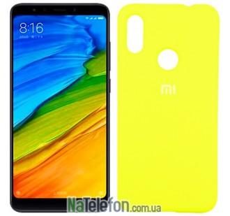 Чехол Original Soft Case для Xiaomi Mi6x/Mi A2 Желтый FULL