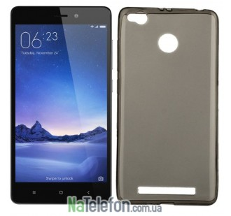 Чехол Ultra Thin Silicone Remax 0.2 mm для Xiaomi Redmi 3s/3x/3 Pro Black