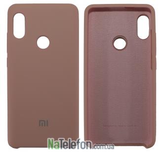 Чехол Original Soft Case для Xiaomi Redmi Note 5 Pro Розовый