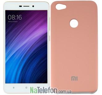 Чехол Original Soft Case на Xiaomi Redmi Note 5a Prime Розовый