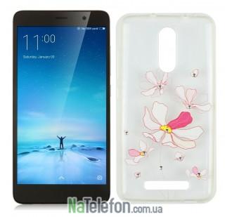 Чехол Lucent Diamond для Xiaomi Redmi Note 3 Iris (Pink)