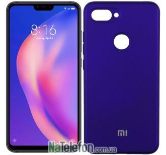 Чехол Original Soft Case для Xiaomi Mi8 Lite Фиолетовый