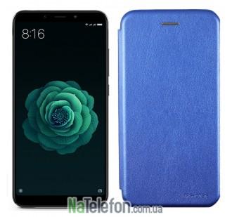 Чехол книжка U-Like Best для Xiaomi Mi6x/Mi A2 Blue
