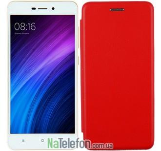 Чехол книжка U-Like Best для Xiaomi Redmi 5a/Redmi Go Red