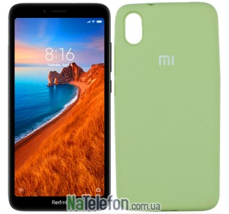 Чехол Original Soft Case для Xiaomi Redmi 7a Мятный FULL