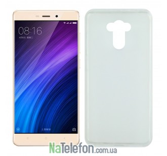 Силиконовый чехол Original Silicon Case Xiaomi Redmi 4/4 Prime White