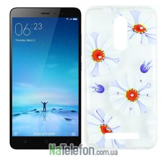 Чехол Lucent Diamond для Xiaomi Redmi Note 3 Daisy (Blue)