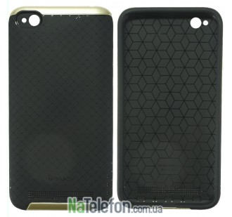 Накладка iPaky (OR) Carbon TPU + Bumper for Xiaomi Redmi 5a Gold