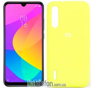 Чехол Original Soft Case для Xiaomi Mi A3 Желтый FULL