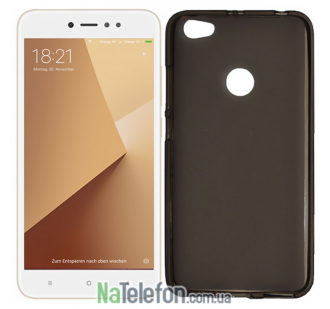 Силиконовый чехол Original Silicon Case Xiaomi Redmi Note 5a Prime Black