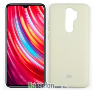 Чехол силиконовый оригинальный для Xiaomi Redmi Note 8 Pro Серый FULL