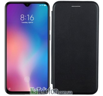 Чехол книжка U-Like Best для Xiaomi Mi9 SE Black