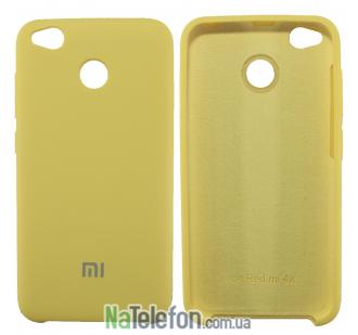 Чехол Original Soft Case для Xiaomi Redmi 4x Золотой