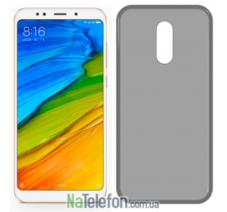 Ультра тонкий силиконовый чехол 0.3 mm для Xiaomi Redmi 5 Plus Black