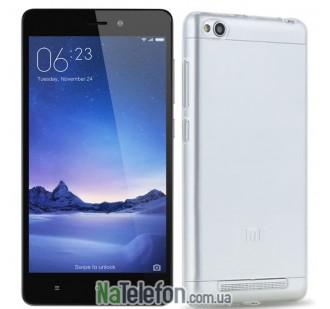 Силиконовый чехол Original Silicon Case Xiaomi Redmi 3 White