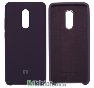 Чехол Original Soft Case для Xiaomi Redmi 5 Фиолетовый