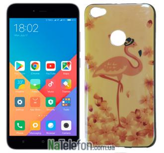 Чехол U-Like Picture series для Xiaomi Redmi Note 5a Prime Flamingo