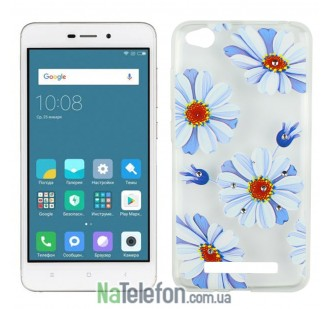 Чехол Lucent Diamond Case для Xiaomi Redmi 4a Daisy (Blue)