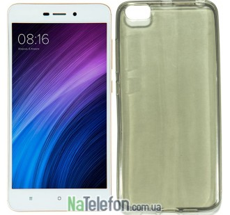 Силиконовый чехол Original Silicon Case Xiaomi Mi5c Black