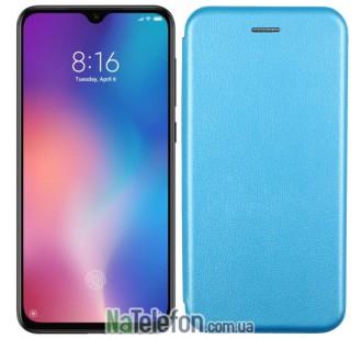 Чехол книжка U-Like Best для Xiaomi Mi9 SE Cyan