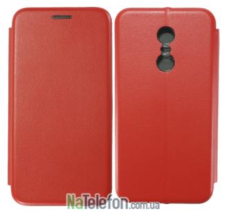 Чехол книжка U-Like Best для Xiaomi Redmi 5 Plus Red