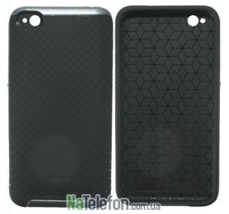 Накладка iPaky (OR) Carbon TPU + Bumper for Xiaomi Redmi 5a/Redmi Go Grey