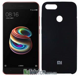 Чехол Original Soft Case для Xiaomi Mi5x/A1 Чёрный