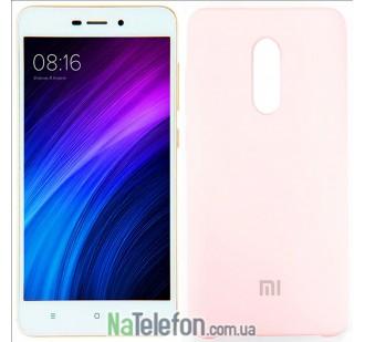 Чехол Original Soft Case для Xiaomi Redmi Note 4x Розовый FULL