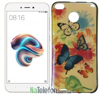 Чехол U-Like Picture series для Xiaomi Redmi 4x Butterfly
