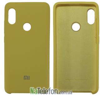 Чехол Original Soft Case для Xiaomi Redmi Note 5 Pro Золотой