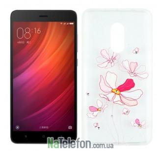 Чехол Lucent Diamond для Xiaomi Redmi Note 4 Iris (Pink)