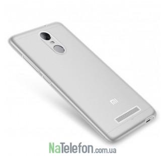 Силиконовый чехол Original Silicon Case Xiaomi Redmi Note 3 White